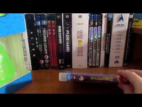 Hotel Transylvania 2 (2015) Best Buy exclusive blu Ray box set:blu Ray unboxing 12