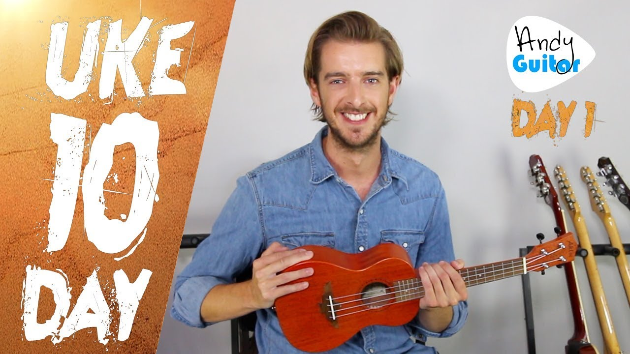 Ukulele Lesson 1 –  Absolute Beginner? Start Here! [Free 10 Day Course]