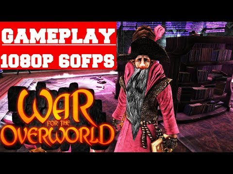 War for the Overworld The Under Games Gameplay (PC) (видео)