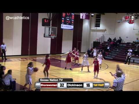Ali Grundy Halftime Buzzer-Beating Three-Pointer