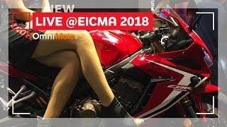 Honda CB 650 R e CBR 650 R | EICMA 2018