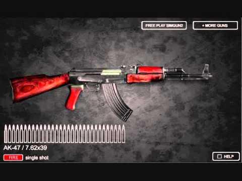 Video of Sim Gun AK47