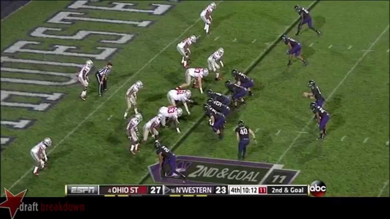 Bradley Roby vs Northwestern (2013)