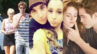 Miley vs. Ariana vs. Kristen - Worst Celebrity Breakups! (REWIND 2013)