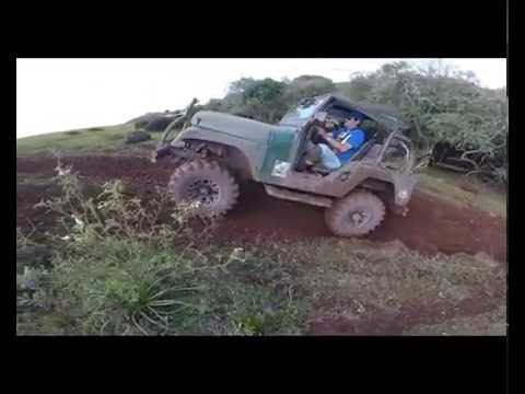 Trilha na Barra do Guarita, Hero 4 session, trilha 4X4 Jeep