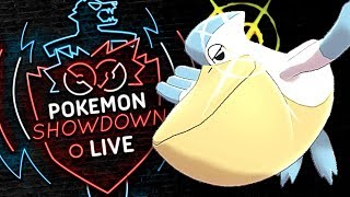 WEATHER BALL PELIPPER! OU'S SLEEPER THREAT! Pokemon Sword and Shield! Pokemon Showdown Live! by PokeaimMD