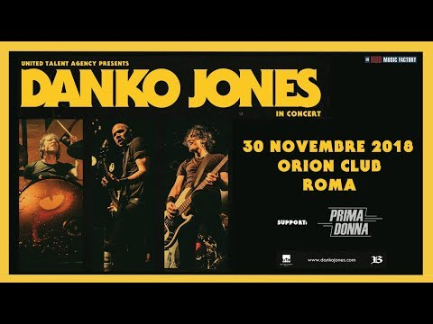 DANKO JONES - Sex Change Shake - Lipstick City - Orion-30-11-2018