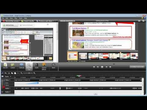 How to Edit Audio Only in Camtasia