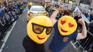 Gumball 3000: EmojiTR Pops, Bangs & Insane Reactions On Regent Street by Car Throttle