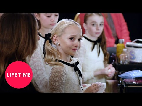 Dance Moms: Lilly Misses a Side Aerial in the Group Dance (Season 8, Episode 4) | Lifetime