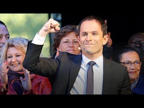 Η «δύσκολη» προεκλογική εκστρατεία του Μπενουά Αμόν