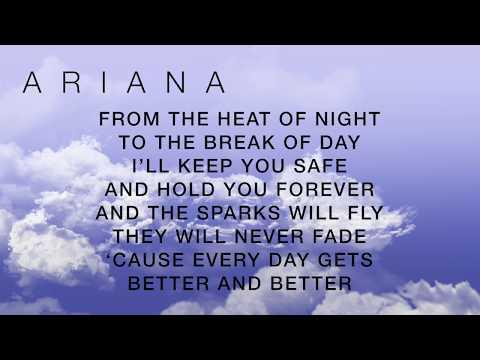 OVER AND OVER AGAIN NATHAN SYKES FT. ARIANA GRANDE (LYRICS) (видео)