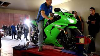 6. 2007 Kawasaki ZX-10R on Dyno