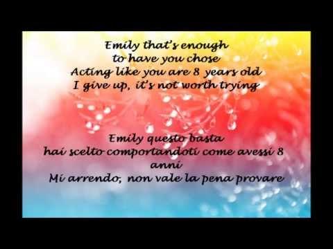 , title : 'Emily - Mika (testo e traduzione) - lyrics'
