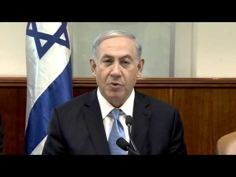 PM Netanyahu's Remarks at Start of Cabinet Meeting – 21.12.2014