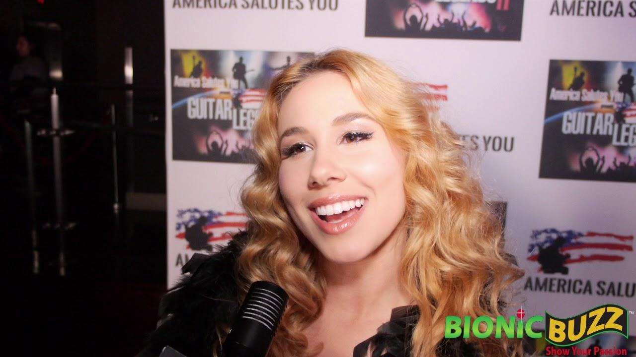 Singer Haley Reinhart Interview at America Salutes You presents Guitar Legends II