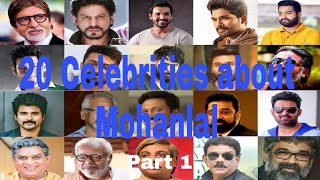 Video Mohanlal the star among the stars. 20 celebrities talks about Mohanlal Part 1. MP3, 3GP, MP4, WEBM, AVI, FLV Januari 2019