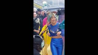 Camilla Cabello and Charlie XCX Dancing to Delicate - Taylor Swift Reputation Tour Dublin