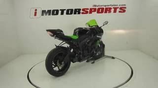 3. 2009 KAWASAKI NINJA ZX 6R MONSTER ENERGY EDITION @ iMotorsports  A2158