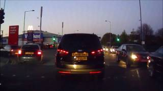 High Wycombe United Kingdom  city photo : UK Bad drivers Slough, High Wycombe, Aylesbury, Princes Risborough, M40, Bucks + Berks 3
