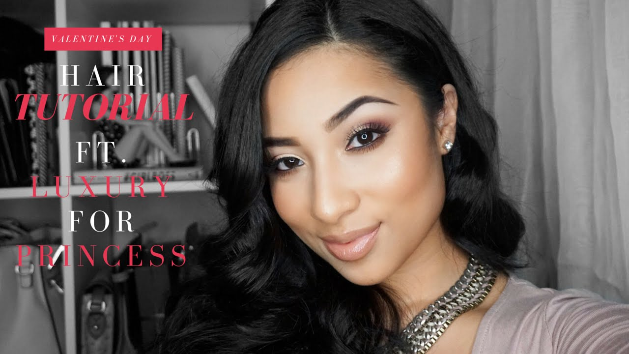 Valentine's Day Hair Tutorial ft. Luxury for Princess + GIVEAWAY