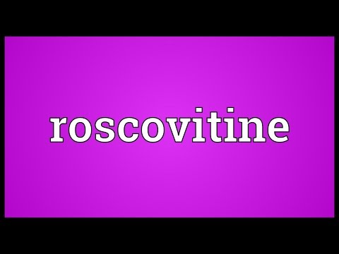 Roscovitine Meaning
