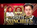 BRAND NEW SERIES! QUALIFYING FOR WEEKEND LEAGUE! ROAD TO INVINCIBLES #1! FIFA 18 ULTIMATE TEAM RTG
