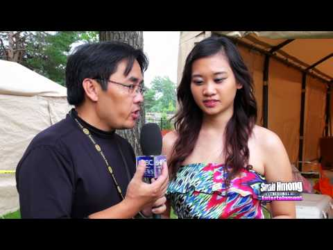 Suab Hmong News:  Exclusive interviewed Michelle Lee with her singing on stage