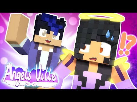 EIN Moves In!? | Angelsville [Ep.17] | Minecraft Survival