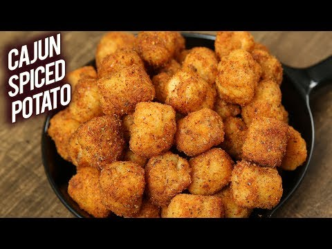 McCain Chilli Garlic Potato | CAJUN SPICED POTATO | Best Appetizer In 15 Minutes