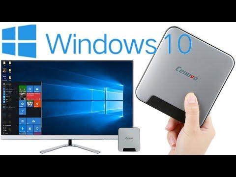 Mini PC с Windows 10 тестирование и полный обзор   алиэкспресс обзор
