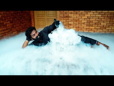 FOG MAKING WITH DRY ICE | FOG MACHINE | M4 TECH |