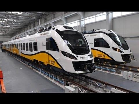 Испытание польского скоростного поезда Newag - Центр транспортных стратегий