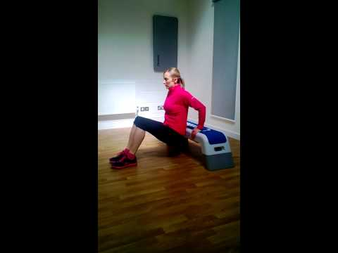 Happy Bodies Exercise 3 - Tricep Dip 1