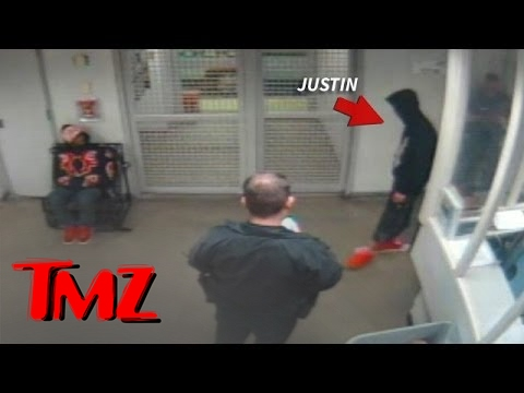 Jailhouse Footage Of Justin Bieber Released.