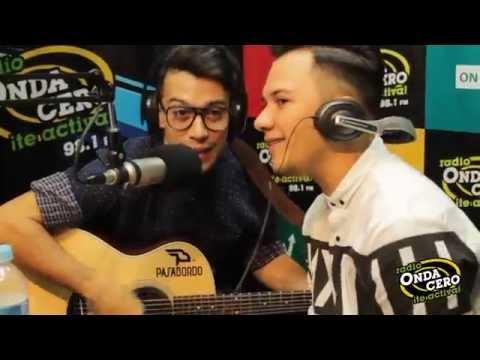 Onda Videos: ¡Pasabordo cantando en la cabina de Onda Cero!