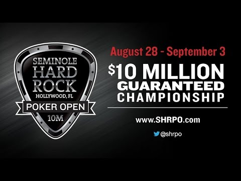 High - Seminole Hard Rock Poker Open $100000 Super High Roller Deep Stack No Limit Hold'em - final table live poker coverage from Hollywood, Florida for this $100000 super high roller deep stack...