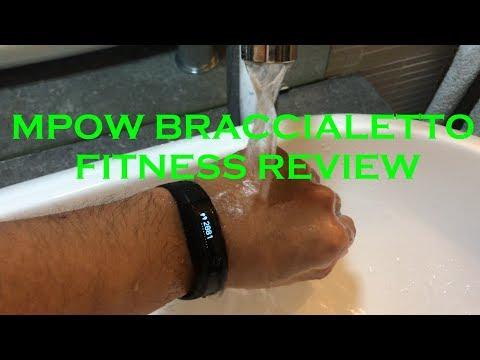 Mpow braccialetto fitness più venduto su Amazon: Setup, recensione smartband iOS Android 2017 ITA