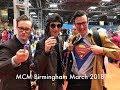 MCM Birmingham Comic Con March 2018 Vlog