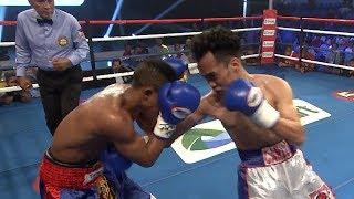 Carlo Peñalosa vs. Jemsi Kibazange   ESPN5 Boxing