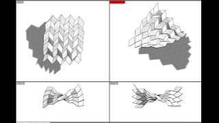 Digital Miura Ori Pattern