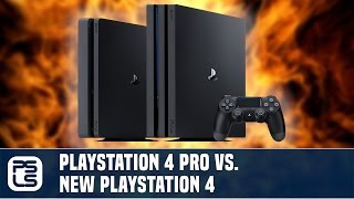 Versus - PS4 Pro vs. PS4