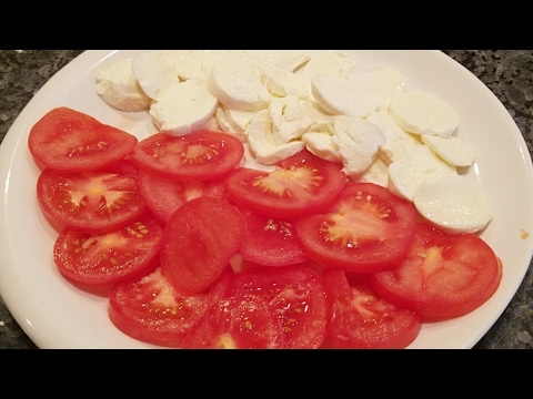 Mozzarella and Tomato Pizza Recipe