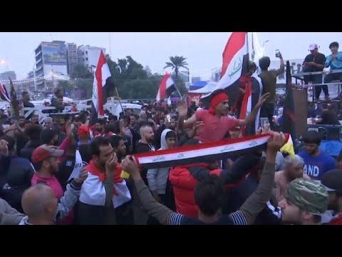 Irak: Jubel in Bagdad nach Rücktritt von Regierungsch ...