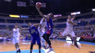 JR Quiñahan is thrown out of the game for a Flagrant 2 call! | PBA Philippine Cup 2018