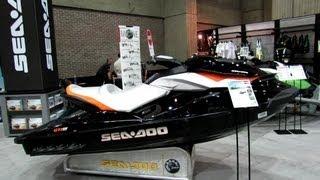 9. 2013 Sea-Doo GTI SE-155 Jet Ski - Walkaround - 2013 Montreal Boat Show