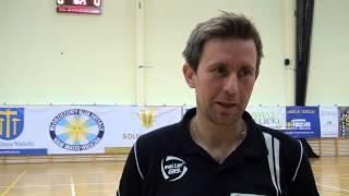 Wywiady po meczu MFK Solne Miasto Wieliczka - NBIT Gliwice