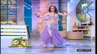 Cristina Gîrloiu -dans oriental  Antena1