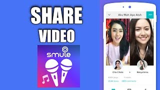 Cara Download Video Smule di iPhone, Cara Share ke Facebook dan Youtube