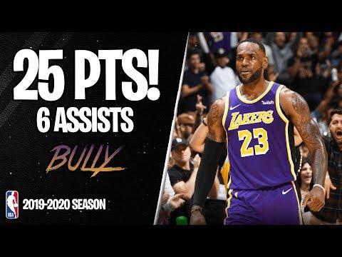 LeBron James 25 Points vs Miami Heat - Full Highlights 08/11/2019